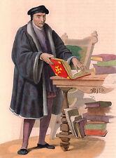 Portrait XIXe Guillaume Budé Budaeus Humanisme Humaniste Renaissance