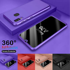 For Samsung Galaxy A10e A20 A20S A30 A50 A70 360° Case Shockproof Hybrid Cover