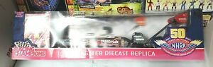 2000 Racing Champions Joe Amato Dynomax 1:24 scale NHRA Dragster autograph? new