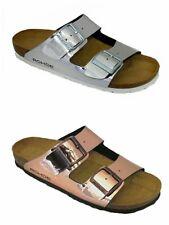 Rohde Alba 5634 Women's Sandals Mules Copper Silver Offer