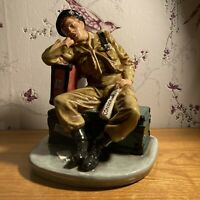 Royal Doulton Prestige figurine 730 Days HN  4820  Limited Edition WW2  Interest