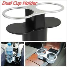 Auto Car Dual Cup Holder Drink Bottle Pocket Seat Mount Stand Storage Double JO