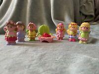 Elc Happyland - Fairy Figure Bundle - 6 Fairies, Table & Chair