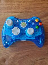 Xbox 360 Rock Candy PDP Blueberry Boom White  Wired Controller
