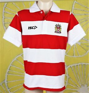 WIGAN WARRIORS MEDIA POLO SHIRT kids size 10 new with tags