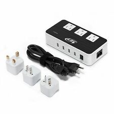 Key Power 220V to 110V Voltage Converter International Travel Adapter Europe