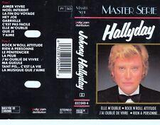 K 7 AUDIO (TAPE)   JOHNNY HALLYDAY *ELLE M'OUBLIE* (MASTER SERIE)