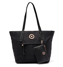 MIMCO Splendiosa Tote Shopper Bag Black with wristlet Authentic BNWT RRP229