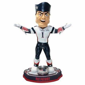 Pat Patriot New England Patriots Super Bowl LIII Champions Bobblehead NFL
