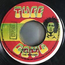 """BOB MARLEY """"Rastaman Live up / Don't give up"""" Original Tuff Gong single 1978"""