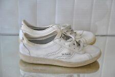 McEnroe Herren Sportschuhe Tennis sneakers weiß 44 UK10 shoes 80s TRUE VINTAGE