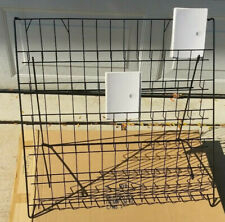Product Display Rack BLACK Coated Metal Easy Assembly New