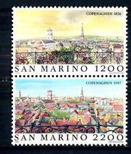 SAN MARINO - 1987 - Copenhagen 1836 e 1987