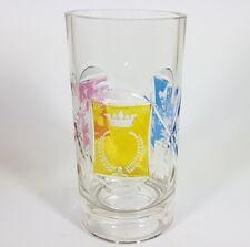 Ausgefallener Becher, Glas gebeizt, F. Egermann?, um 1850 - 1860 AL205
