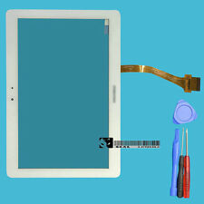 "For Samsung Galaxy Tab2 10.1"" P5100 P5110 N8000 White Touch Screen Digitizer"