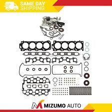 Head Gasket Set Timing Belt Kit Water Pump Fit 98-04 Toyota Lexus 2UZFE