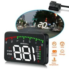 3.5inch Mini Car HUD Head Up Display Screen Projector OBD Speed Warning For Safe