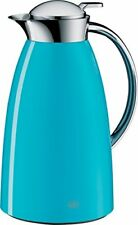 alfi Gusto Glass Vacuum Lacquered Metal Thermal Carafe for Hot and Cold Beverage