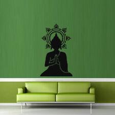 Wall Decal Buddha India Yoga Coated Gautam Religion Life Teaching bedroom M350