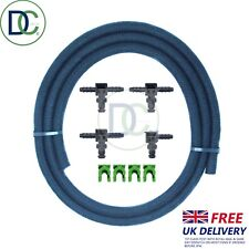 DENSO Leak OFF Connettore Completo Kit Incl. TUBO FLESSIBILE & Clip-FORD FIAT LAND ROVER