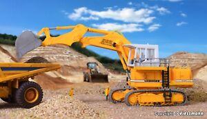Kibri 11278  LIEBHERR 992 Tracked Excavator / Backhoe  HO 1:87 Kit