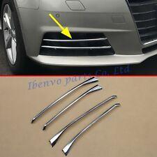 Vehicle Chrome Moulding Fog Light Trim For Audi A4 (B9) Sedan Avant Accessories