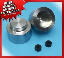 """3"""" Inch Rear Lift Leveling Kit Silver Billet 07-13 Chevy Avalanche 1500 6-lug"""
