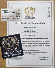 Martial Arts - Wu Shi Dao Street Defence Membership - KARATE MMA JKD WING CHUN