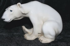 "BING&GRONDAHL / ROYAL COPENHAGEN FIGUR #1629  ""POLAR BEAR SITTING"" TOP 1. WAHL"