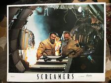 Screamers 1995 Triumph sci-fi lobby card Peter Weller, Charles Edwin Powell