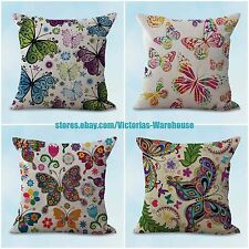 US SELLER- 4pcs ideas interior decorating cushion covers butterlfy