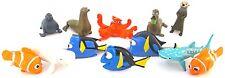FINDING DORY Figure Set DISNEY PVC TOY Cup Cake Topper NEMO Gerald HANK Destiny!