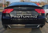 Audi A5 8T FACELIFT Sportback Rear Bumper S Line Look Diffuser Duplex Exhaust