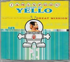 Yello Jam & Spoon Hands On CD Single Great Mission