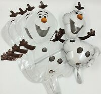 5 x 37cm Disney Frozen Olaf Happy Birthday Party Foil Balloon Air Fill Job Lot