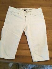 J & Company white knee length jeans Size 28