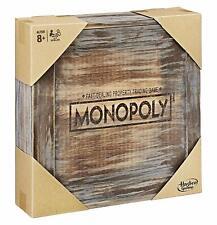Hasbro Monopoly Holz Sonderedition Brettspiel Gesellschaftsspiel Sammleredition