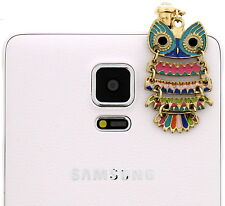 Owl Skirt Cell Phone Charm Pendant Dust Plug Cover IPhone Galaxy Note Mega