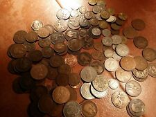 50 coin british English Coins Crown to Farthings.sixpences penny' three-pences +