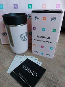 Nespresso x Chiara Ferragni Nomad Travel Mug NEU OVP LIMITIERT/AUSVERKAUFT