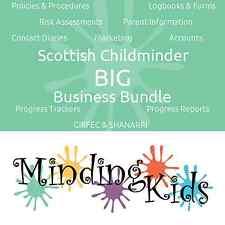 Scottish Childminder BIG Business Bundle, GIRFEC, SHANARRI, Care Plans, & more!