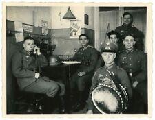 Orig. Foto Nachrichten Telefon I.R.18 in Wachstube in Kaserne DETMOLD 1936