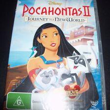 Pocahontas II Journey To A New World (Australia Region 4) Disney DVD – New
