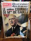 France Dimanche 17 au 23 Novembre 1970 Mort du Général De Gaulle