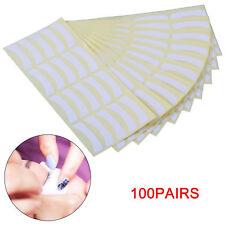 100pcs Eyelash Extensions Pads Under Eye Lash Gel Lint Free Eye Patches Pad