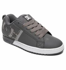 Tg 42 - Scarpe Uomo Skate DC Shoes Court Graffik Pewter Sneakers Schuhe 2019