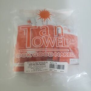 New Tan Towel 31pc Sunless Tanning Half & Full Body Towelettes Mist Kit exp 4/17