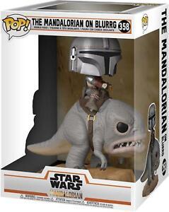 Mandalorian on Blurrg Star Wars #358 Funko Pop! Figurine