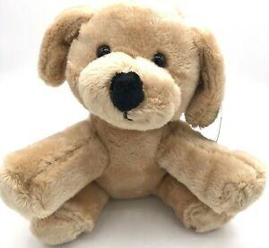Animal Adventure Puppy Dog 6.5 Inch Stuffed Animal Plush - NEW With Tags -m