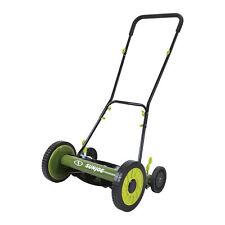 Sun Joe Manual Reel Mower   16 inch   9 Position (Certified Refurbished)